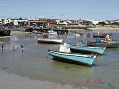 Grounded fishing boats, Struisbaai, near Cape Agulhas