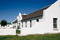 Gabled, thatched homestead at Geelbek, Langebaan, West Coast National Park