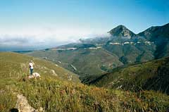 Passes over the Outeniqua Mountains
