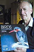 Nico Myburgh with Sasol bird calendar